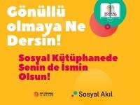 Sosyal Kütüphane Projesi Gönüllülerini Arıyor!